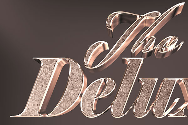 3D Bronze Text Effect Free Download Text Style