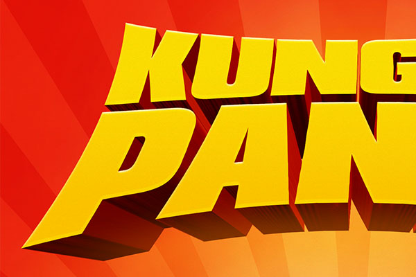 Kung Fu Panda Text Effect Free Download Text Style