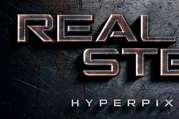 Real Steel Movie Text Effect Free Download Text Style