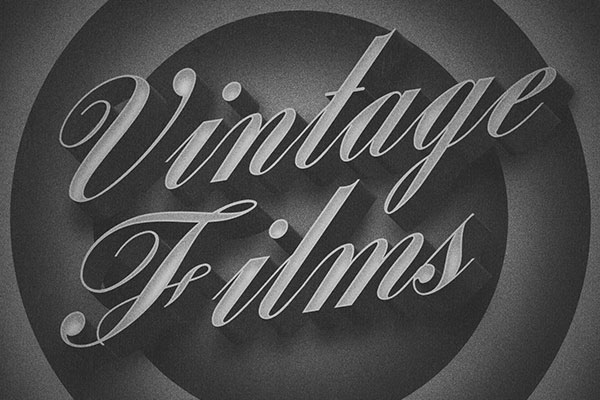 Old Movie 3D Title Text Effect Free Download Text Style