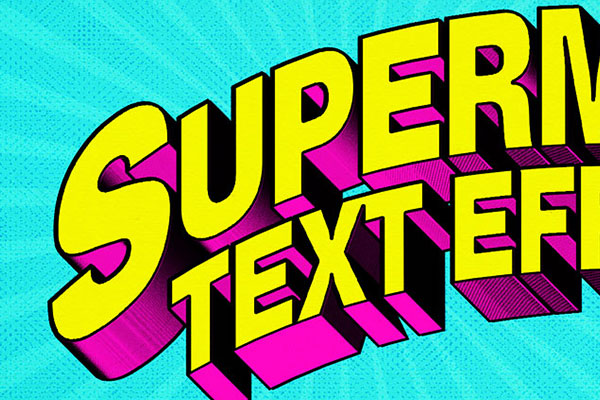 Superhero Comic Text Effect Free Download Text Style