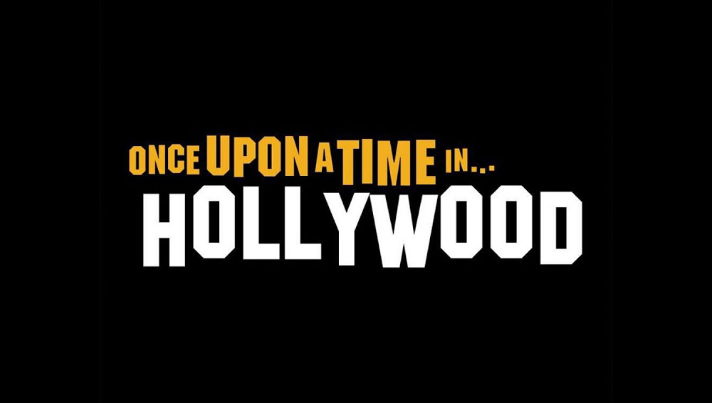 Once Upon a Time in Hollywood Font