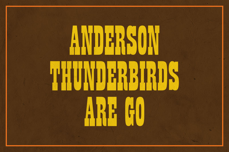 anderson thunderbirds are go western font