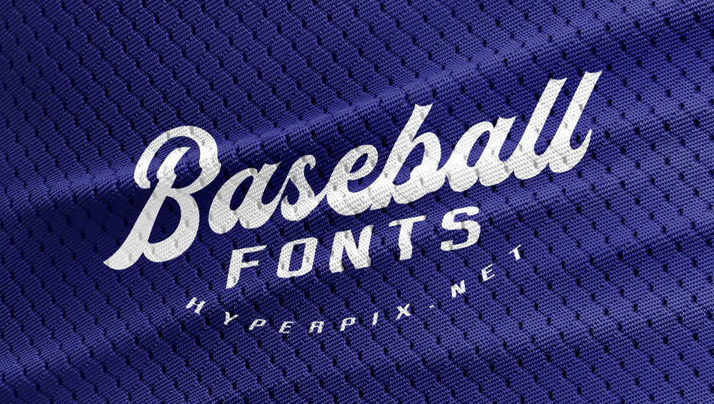 Best Free and Premium Baseball Fonts