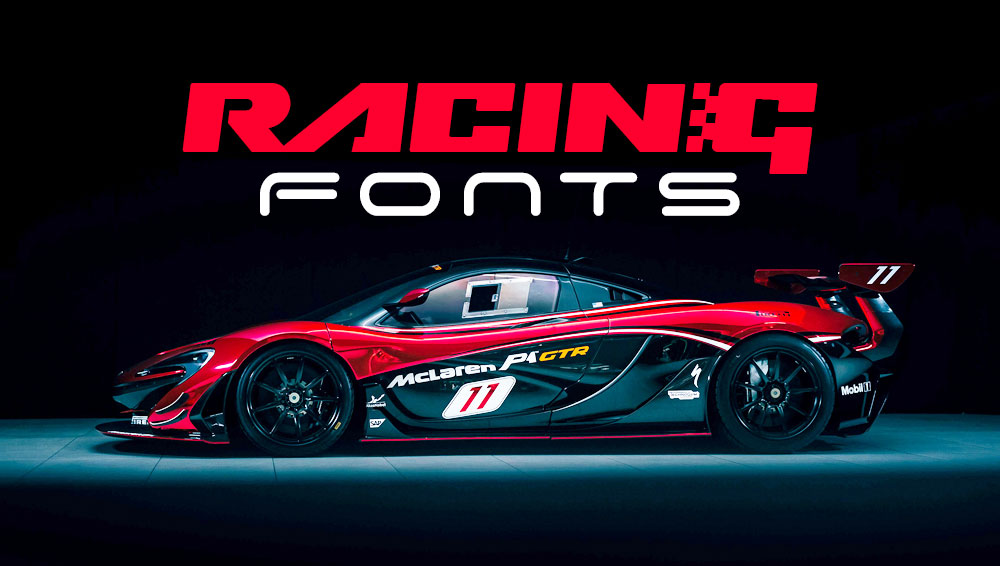 Best Free and Premium Racing Fonts