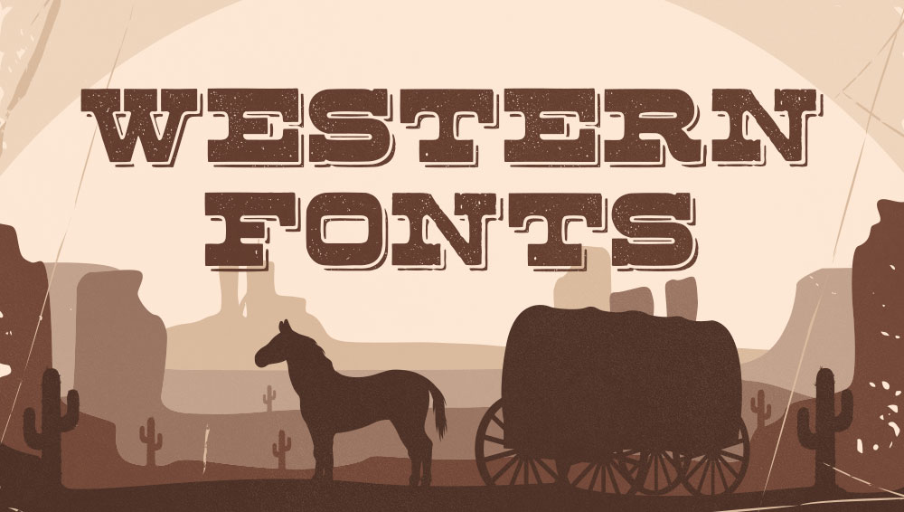 Best Free and Premium Western Fonts