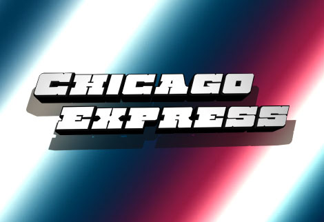 chicago express western font