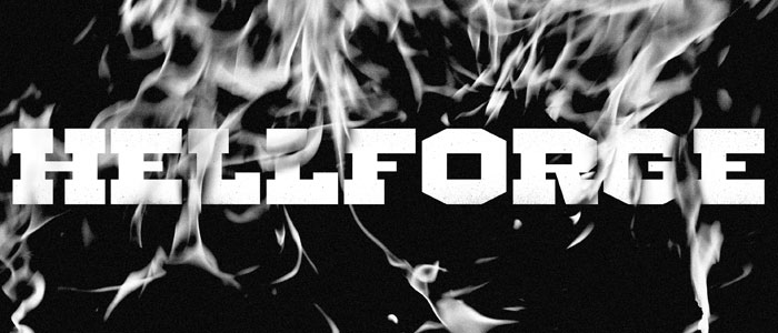 hellforge western font