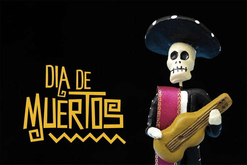 muertos typeface mexican font
