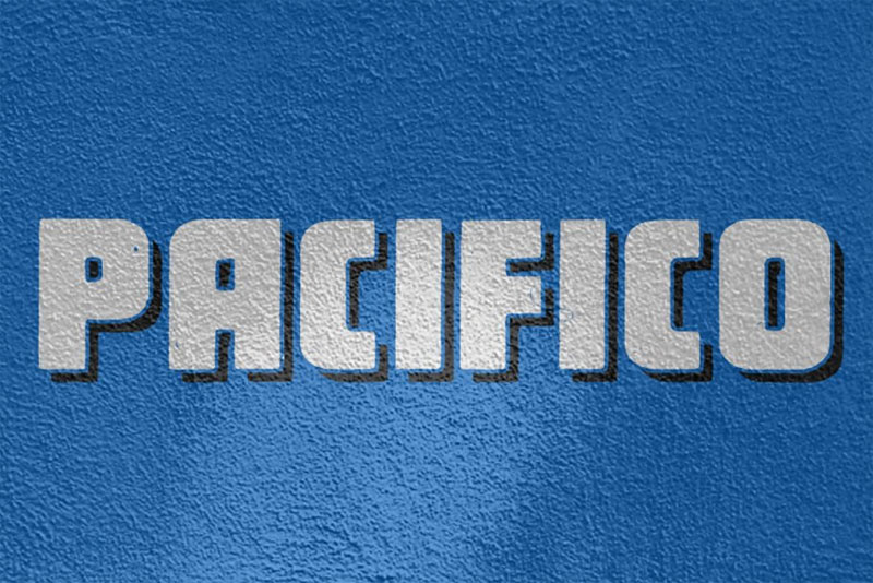 pacifico alternate mexican font