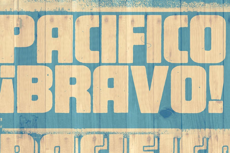 pacifico mexican font