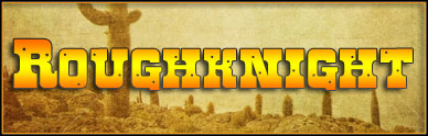 roughknight western font