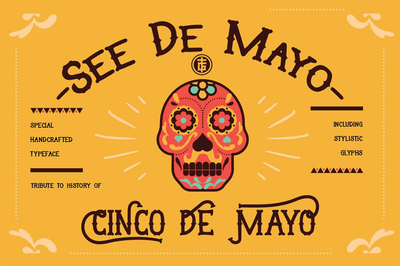 see de mayo mexican font