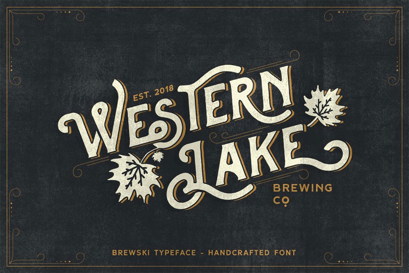 western lake hawaiian font