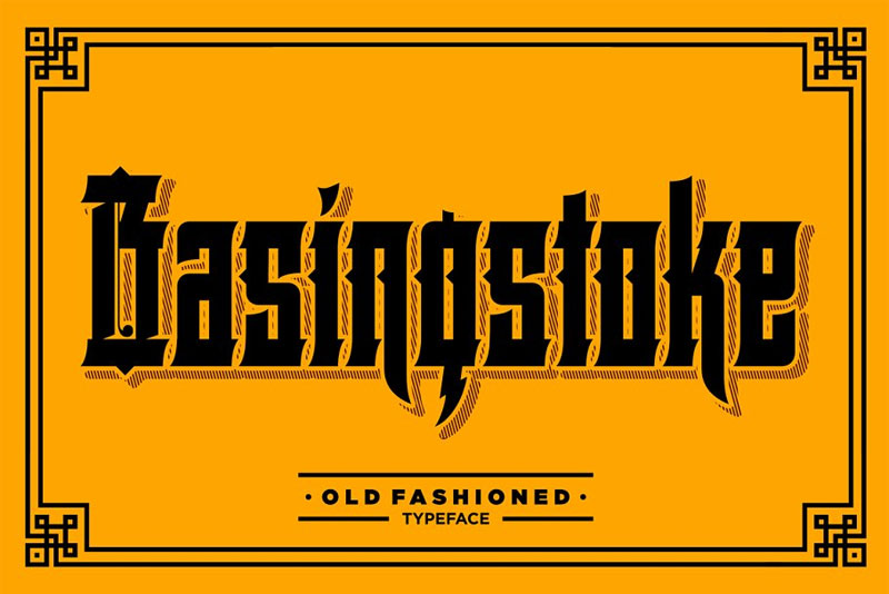 basingstoke money font