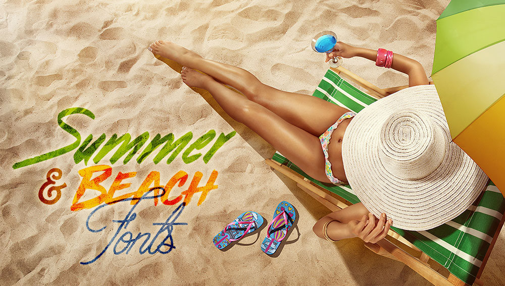Best Free and Premium Summer and Beach Fonts
