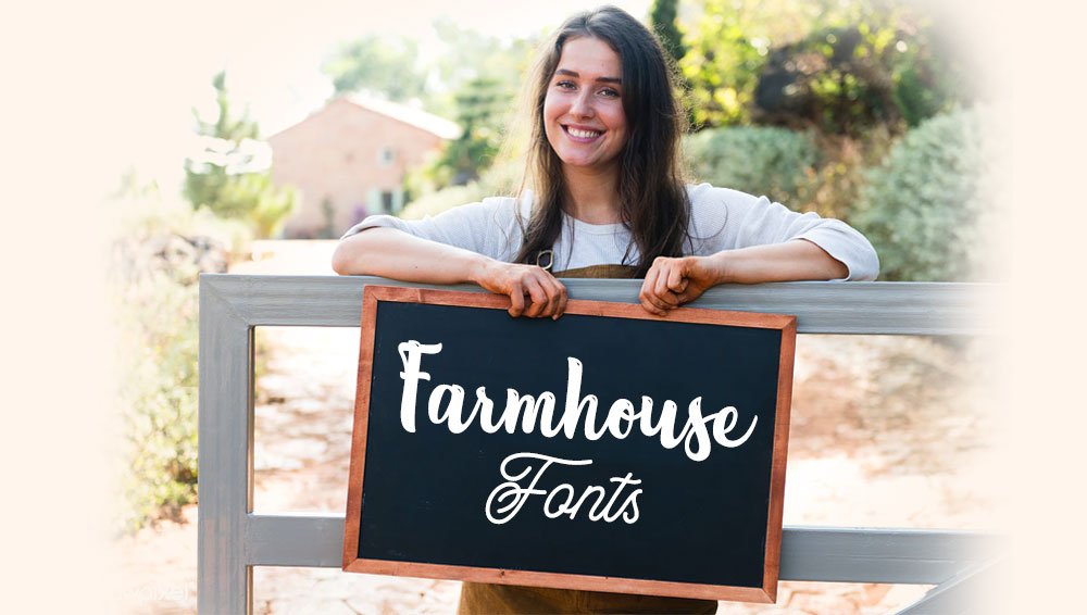 Best Free and Premium Farmhouse Fonts