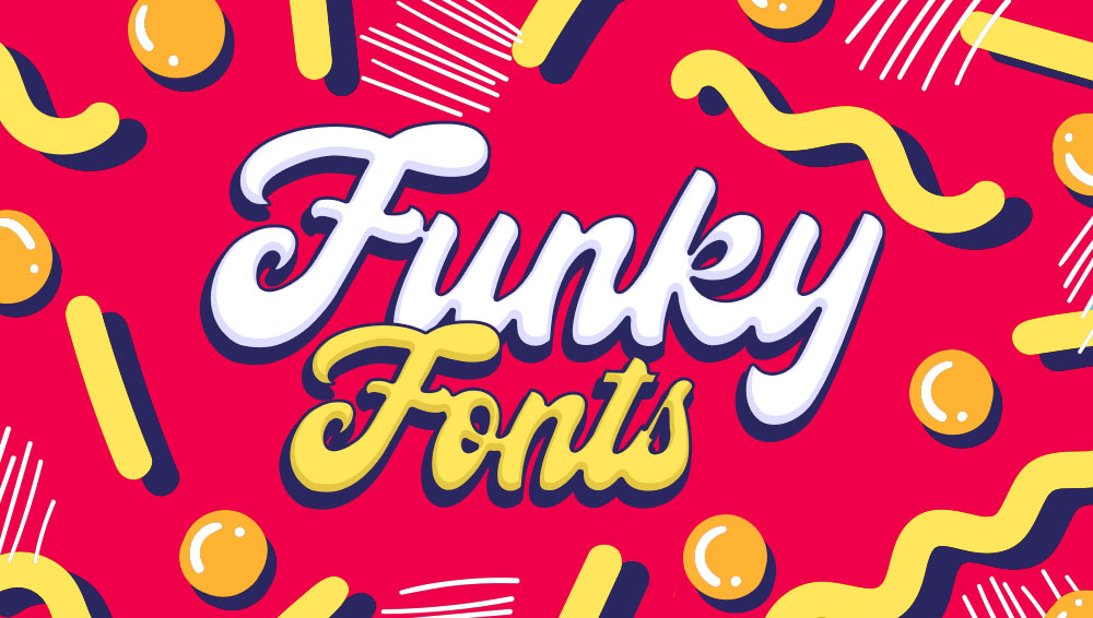Best Free and Premium Funky Fonts