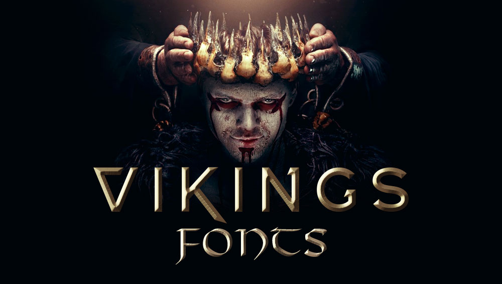 Best Free and Premium Viking Fonts