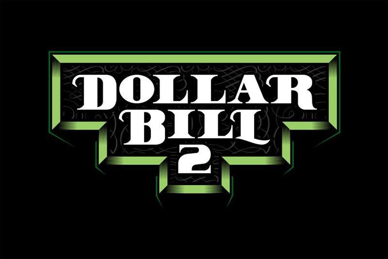 dollar bill 2 money font