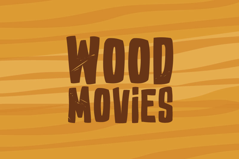 ed wood movies cartoon font