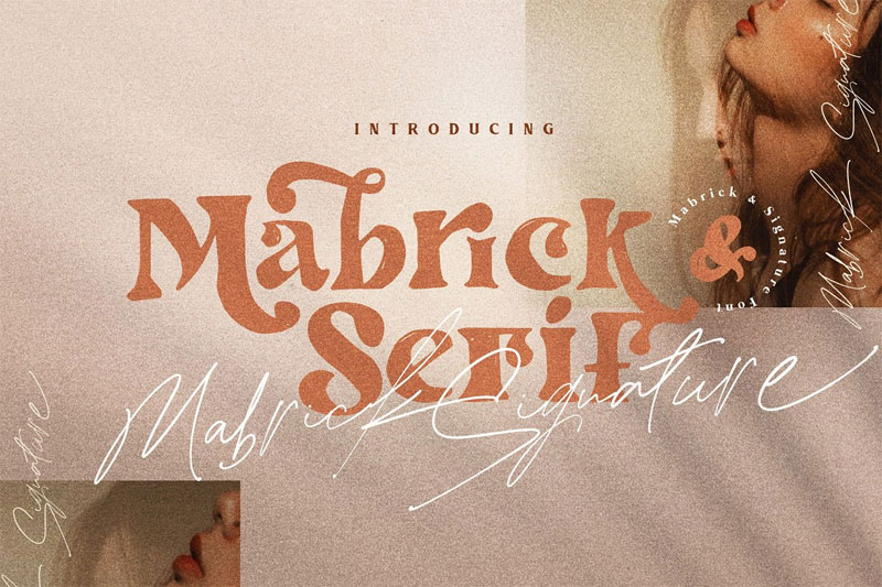 mabrick summer and beach font