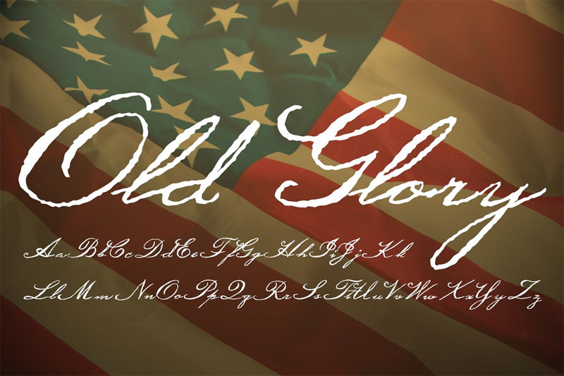 old glory pirate font