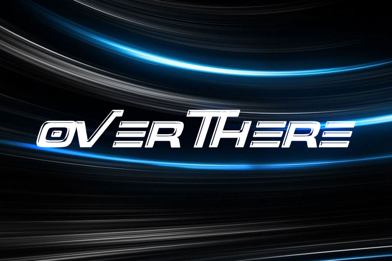 over there racing font