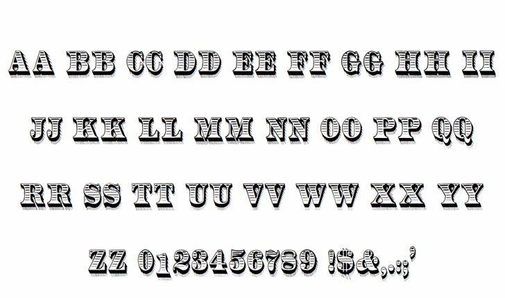 radiantantique money font