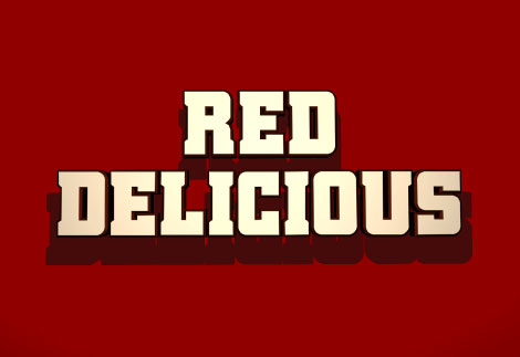 red delicious racing font