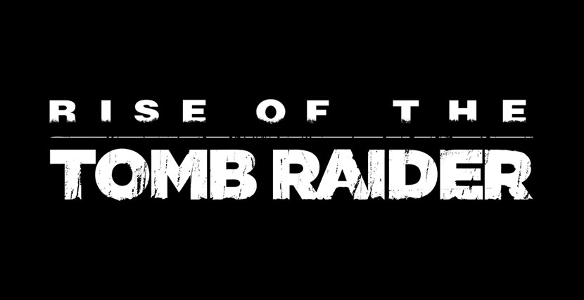 rise of the tomb raider logo font download