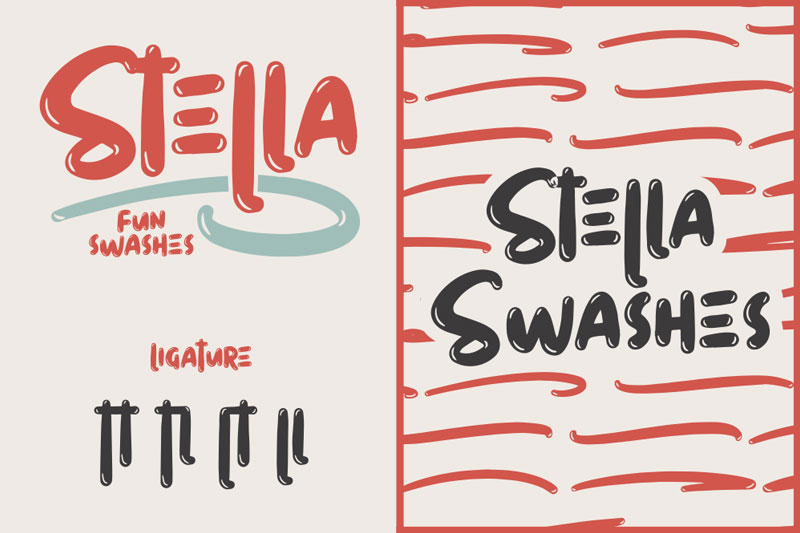 stella cartoon font