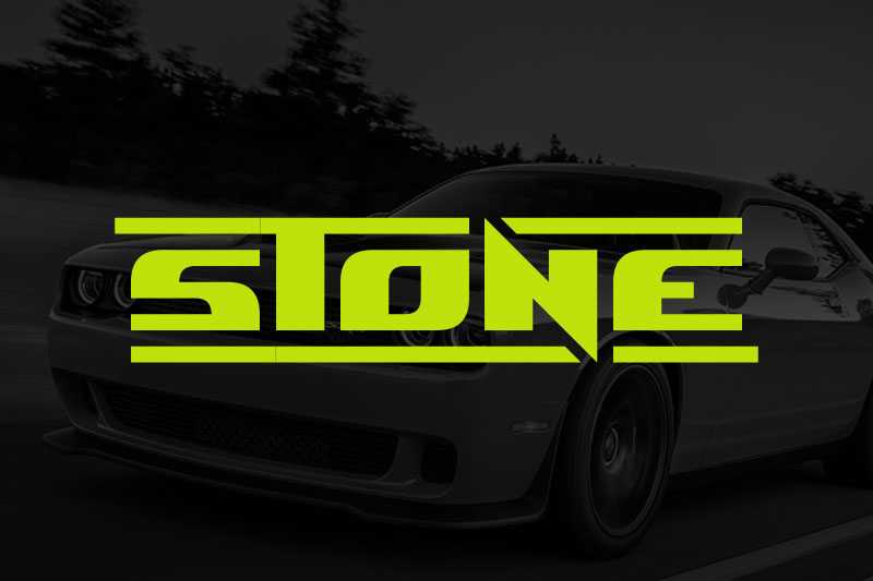 stone racing font