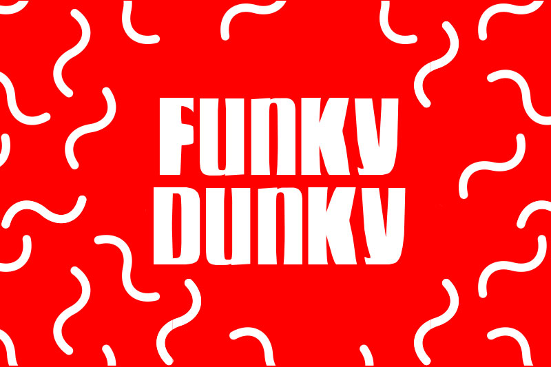 funky dunky funky font