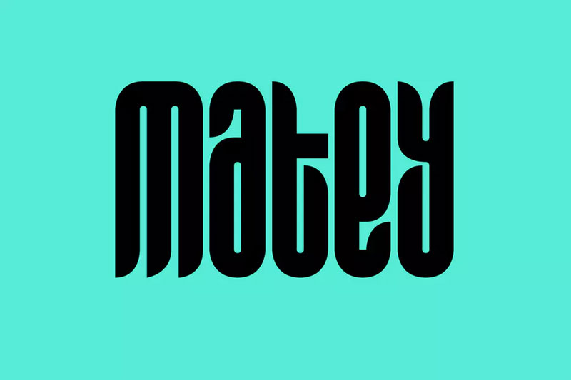 matey funky font