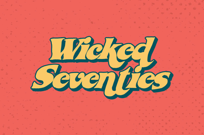 wicked seventies funky font