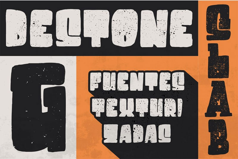 destone cartoon font