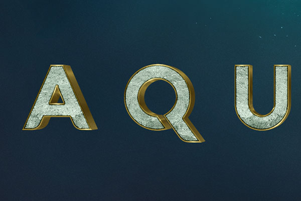 Aquaman Movie Text Effect Download Text Style