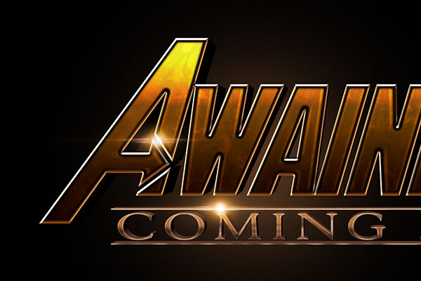 Avengers: Infinity War Text Effect Download Text Style