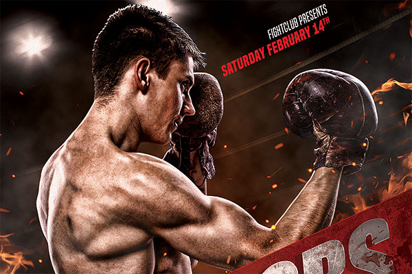 Boxing Flyer PSD Template Download