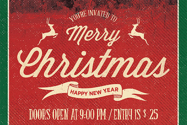 Christmas Flyer PSD Template Download