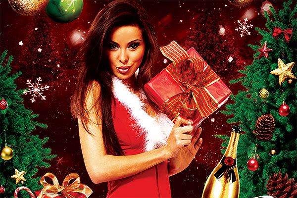 Christmas Party Flyer PSD Template Download