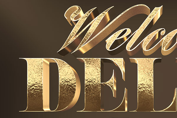 Gold Reflex 3D Text Effect Vol 2 Download Text Style
