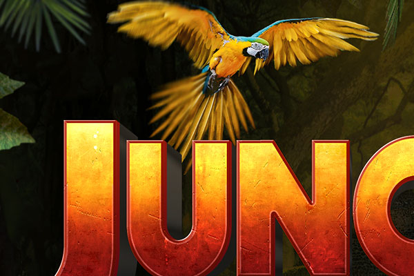 Jumanji: Welcome to the Jungle Text Effect Download Text Style
