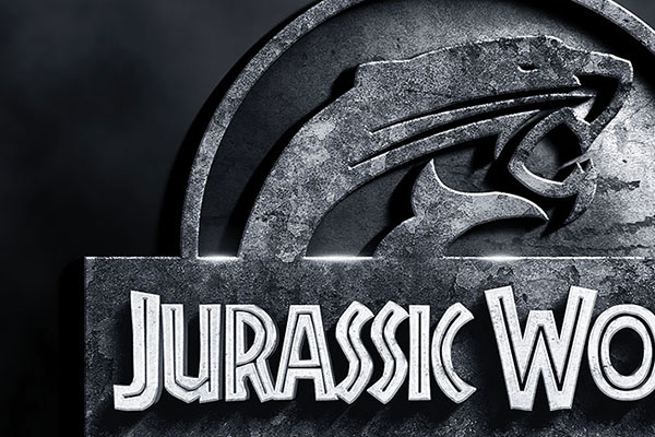 Jurassic World Text Effect Download