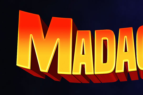 Madagascar Cartoon Text Effect Download Text Style