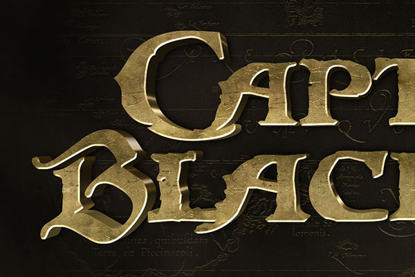 Pirates of the Caribbean Text Effect Download Text Style