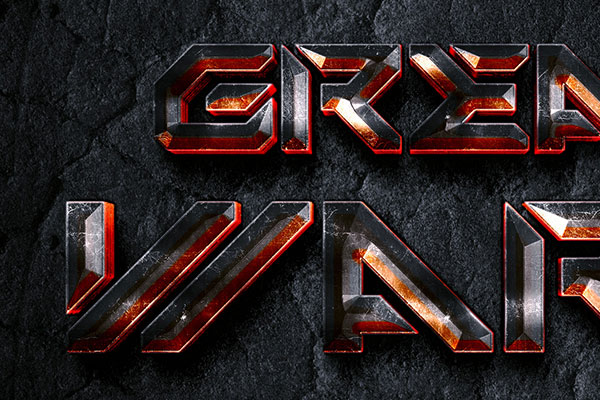 Sci-Fi Game Text Effect Download Text Style