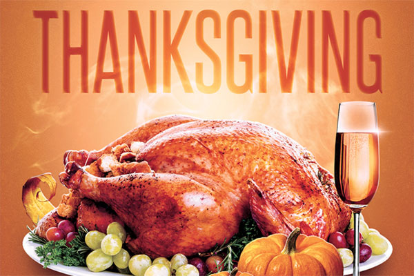 Thanksgiving Flyer PSD Template Download
