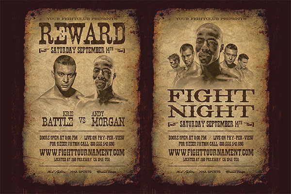 Wanted Poster / Flyer PSD Template Download